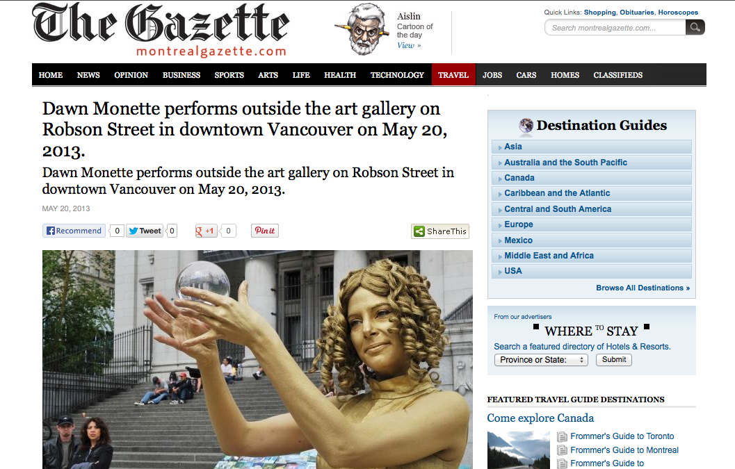 Montreal – Gazette 2013