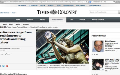 Victoria – Times Colonist 2013
